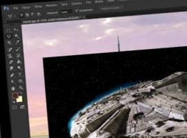 Jak wykonać manipulację w Photoshop - Star Wars City