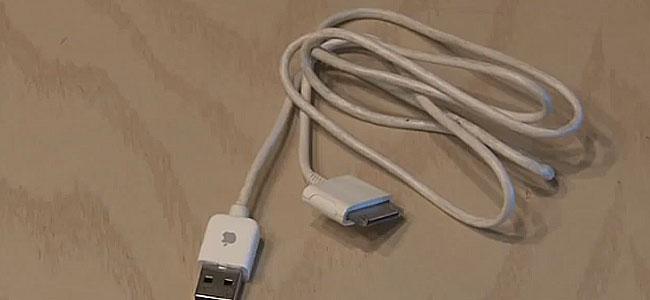 Jak ukryć dane w kablu od telefonu - sekretny pendrive