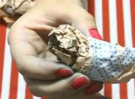 Jak robić ozdoby z papieru techniką papier mache - ptaszek
