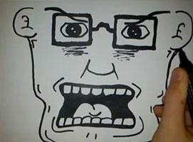 Jak narysować krzyczącego nauczyciela