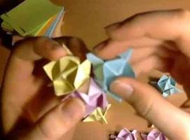Jak zrobić kolczastą kulę stylem origami modułowego
