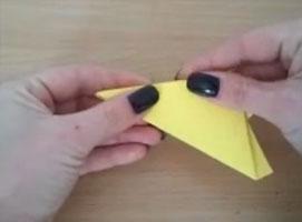 Jak złożyć pięciokąt forremny z kwadratowej kartki papieru
