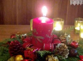 Jak zrobić dekorację na święta - stroik świąteczny