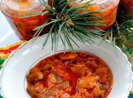 Jak zrobić grzyby w pomidorach w słoikach