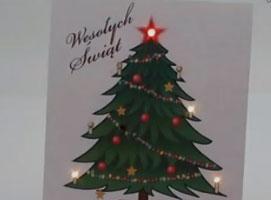 Jak zrobić kartkę świąteczną z migającymi światełkami