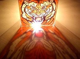 Jak zrobić szklaną lampkę z dowolnym motywem