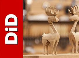 Jak wykonać świąteczne drewniane reniferki 3D