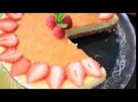 Jak zrobić sernik cytrynowy na spodzie z ciasteczek