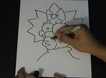 Jak szybko rysować postacie z filmu Simpsons
