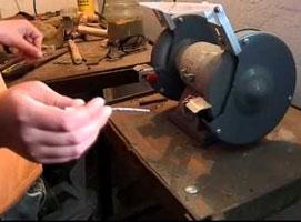 Jak zrobić nóż z gwoździa