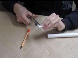 Jak zrobić dmuchawkę z rurki PCV