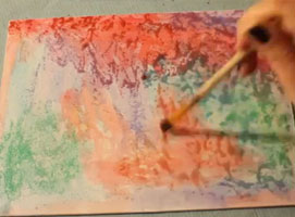 Jak tworzyć obrazy za pomocą farb wodnych