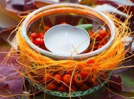 Jak zrobić dekorację w jesiennych barwach