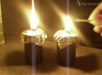 Jak zrobić świeczki na olej roślinny