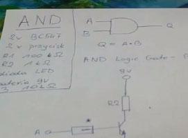 Jak zrobić bramkę AND [BC547]