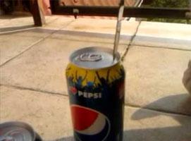 Jak otworzyć puszkę Pepsi kapselkiem do góry