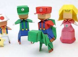 Jak złożyć postać Mario z papieru
