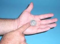 Jak wykonać sztuczkę z monetą i  papierem