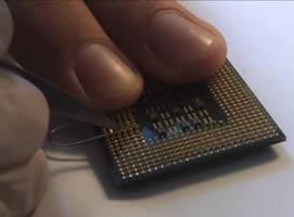 Jak zrobić breloczek ze starego procesora