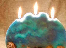 Jak zrobić ozdobną płaską świecę