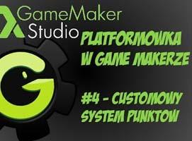 Jak stworzyć platformówkę w Game Maker #4 - System punktów