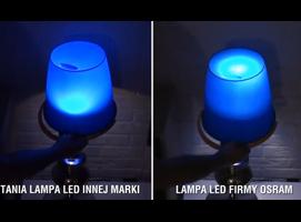 Jak rozpoznać dobre LED - test wiadra