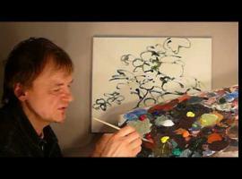 Jak malować akrylem #1- kwiaty