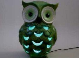 Jak zrobić lampkę nocną z ogrodowej figurki