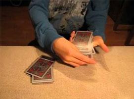 Jak wykonać karcianą sztuczkę Magiczna Czerwień