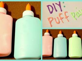 """Jak zrobić własne farby dekoracyjne """"puchnące"""" (Puffy)"""