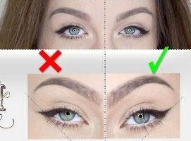 Jak wykonać prawidłową linię kreski i czego unikać