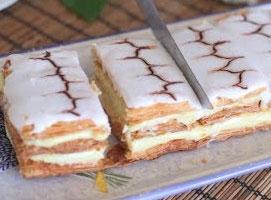 Jak zrobić Mille Feuille czyli ciasto francuskie z kremem
