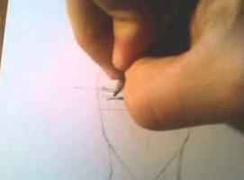 Jak rysować mangę - głowa mężczyzny