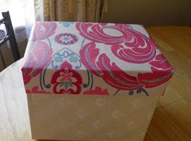 Jak zrobić ozdobny karton z pudełka po butach