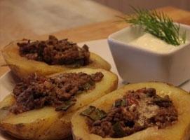 Jak zrobić ziemniaki nadziewane mięsem mielonym