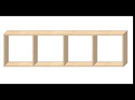 Jak zrobić meble pod wymiar #3 - odmierzanie na materiałach