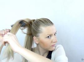 Jak zrobić szybką fryzurę w stylu Heidi Klum