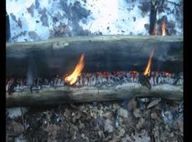 Jak rozpalić syberyjskie ognisko zwane Nodia #2