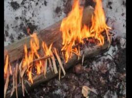 Jak rozpalić syberyjskie ognisko zwane Nodia #1