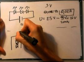 Jak łączyć ze sobą elementy elektroniczne - oporniki i diody