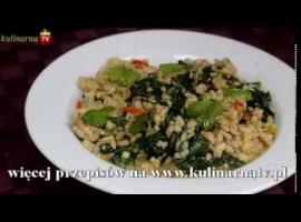 Jak zrobić ciekawy obiad z kaszy z wieprzowiną i szpinakiem
