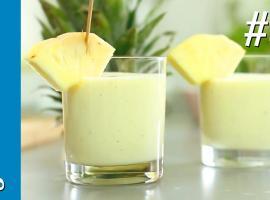 Jak zrobić koktajl ananasowy z serkiem na śniadanie