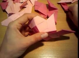 Jak złożyć dwunastościan foremny metodą origami modułowego