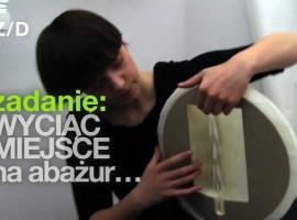 Jak zrobić lampę z papierowej kuli
