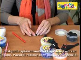 Jak ulepić smoka z plasteliny lub modeliny