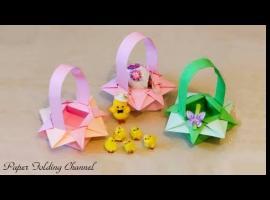 Jak zrobić coś z papieru - wielkanocne origami