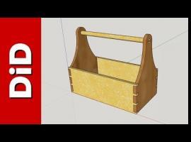 Jak wykonać skrzynkę na narzędzia ogrodowe w SketchUp