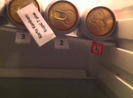 Jak zrobić w lodówce przypominacz o kończącym się piwie