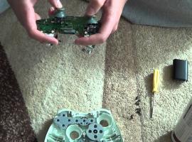 Jak naprawić drążek analogowy w padzie od Xbox 360
