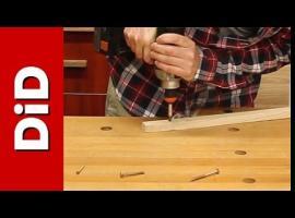 Jak wykorzystać wkręt do drewna jako wiertło